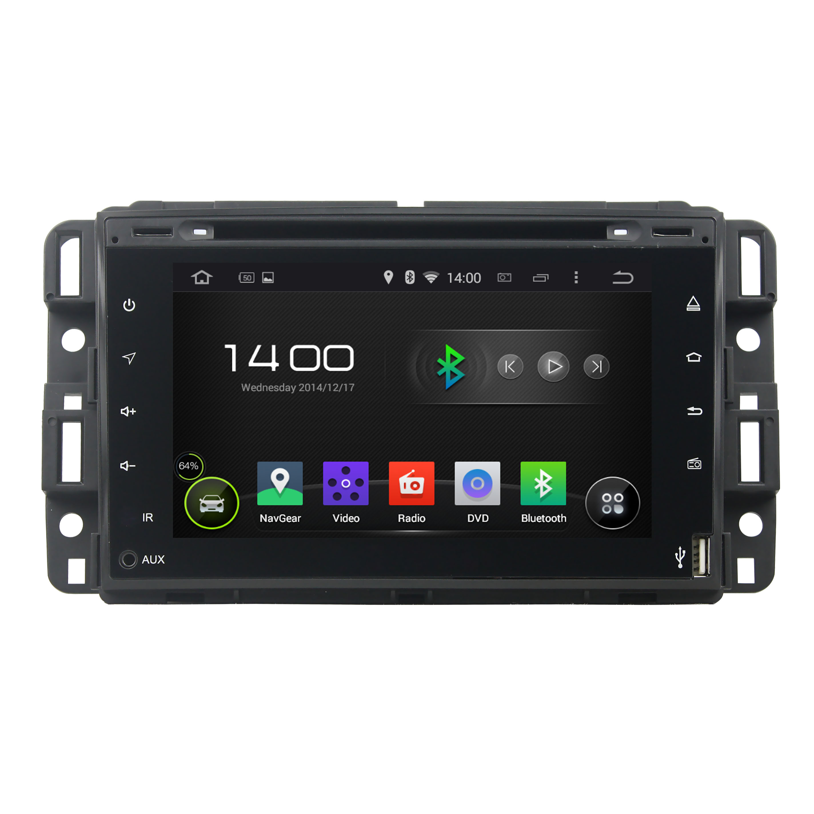 Full touch Yukon 2007--2012 car dvd player