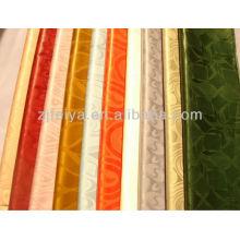 Африканская Гвинея Brocade Продвижение Оптовая Цена Базен Ткань 2016 Новый Дизайн Абая Текстильной