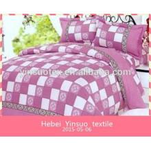 2015 новых горячих продажа 100% хлопок вышивка пододеяльник набор вышитые постельные принадлежности высокого качества постельное белье набор дома