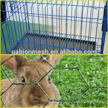 Cerca de malha de arame soldada 4x4 barata e cerca de ligação de corrente usada para gaiola de coelho à venda