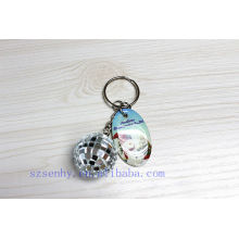 customized disco ball bluetooth key chain