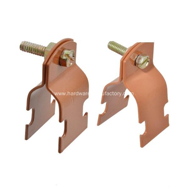 China two piece rigid conduit strut clamp manufacturers
