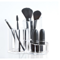 Premium Acrylic Makeup Cosmetic Brush Holder Organizer