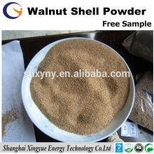Usine professionnelle 100 maille noyer coquille de farine pour le polissage