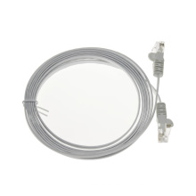 Customized systimax cat6 UTP flat patch cord cable