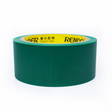 Easy tear PVC embossed vinyl tape pvc wrapping tape 45mm*22m*0.15mm PVC packaging tape