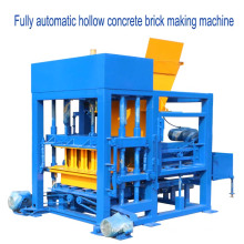 QTF4-25 excelente desempenho de moldagem por vibração bloco de concreto que faz a máquina para venda na nigéria