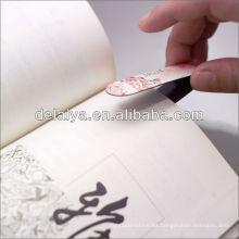 Barato marcador magnético plegable como regalo de promoción publicitaria
