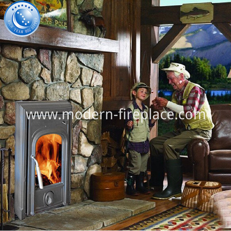 125mm Flue Multi Fuel Cast Iron Wood Burning Stoves