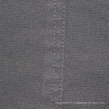 Tissu Dobby en coton gris pour chemises design personnalisé