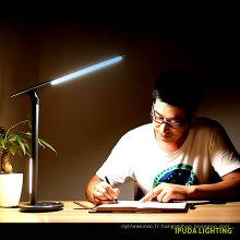 Chine usine design lampes de table pour la maison double led lumière oeil attentionné lampe de table enfants étudier lampes avec contrôle de bouton