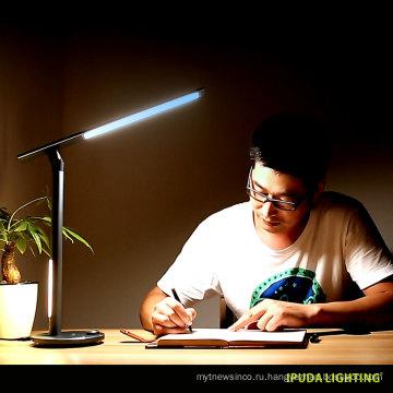 Китай фабрика дизайн настольных ламп для дома двойной светодиодный свет глаз уход настольная лампа дети исследование лампа с управлением кнопки