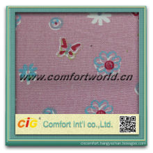 Fashion new design warp knitting faux embroidery printed cotton fabric