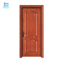 Wholesale wood veneer door 2021 China latest design doors for room GO-TG2