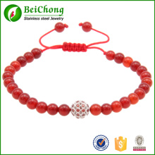 Set auger beads rope woven bracelet