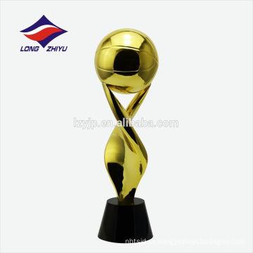 Troféu de campeão mundial da Copa do Mundo de troféus de basquete