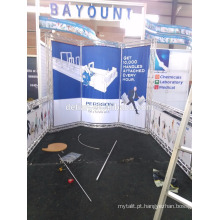Projeto de exposição portátil da feira profissional 3x3 da cabine da exposição de SHANGHAI para a mostra da exhbition