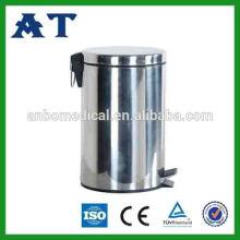 Karton-Recycling-Behälter Edelstahl-Mülleimer