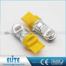 3156 3157 7440 T20 F1 30 W 750LM LED Inversa Luz Da Cauda De Backup Branco Brilhante Hight Power Bulb com alta quanlity