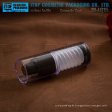 ZB-LQ15 15ml intéressante conception airless mécanisme spécial 15ml tube empilable aluminium flacon pompe airless