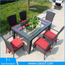 Juego de comedor del patio de los muebles al aire libre de China Supplier