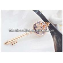 Hot Sale 24K plaqué or bijoux en forme de fleur en or collier bijoux chaîne sweater 013031889