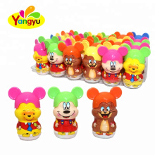 Lovely Mouse Cartoon Fruity Sour And Sweet Taste Tablet Candy