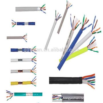 CCS/CU OEM Cable Factory 305m UTP Cat5e Lan Cable 100% Solid Copper