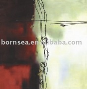 Abstract oil painting reproduction