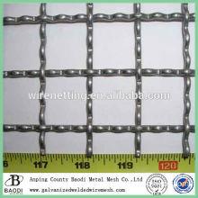 cheap mild steel crimped mine screen mesh