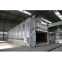 Industrial aluminum coil annealing heat treatment furnace