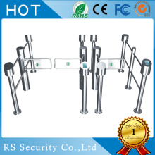 Pedestrian Entrance Swing Gate Supermarket Turnstile