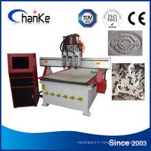 Machine de gravure sur bois pour meubles en acrylique en bois MDF