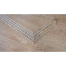 Plancher de clic en bois de planche composite en plastique en pierre