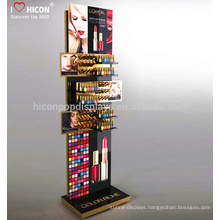 Improve Your Brand At Retail Attracctive Custom Design Metal Retail Store Counter Cosmetic Display Units