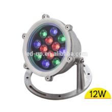 12W LED underwater fountain light IP68 2 Years warranty