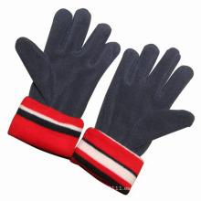 Los cabritos de la moda polar polar tejieron guantes calientes del invierno (YKY5433)