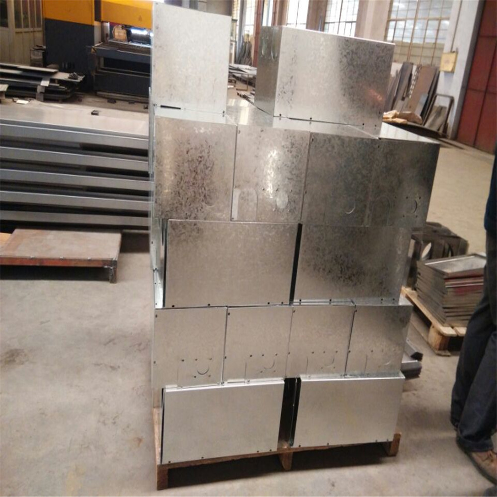 Galvanized Steel Sheet Metal Fabrication