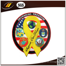 China Supplier OEM High Qaulity Colourful Embroidery Patch (HJ0519)