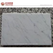 Hot Sale Statuary White Marble Polished Tile Floor