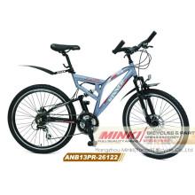 Bicicleta de montaña con suspensión de aleación (ANB13PR-26122)