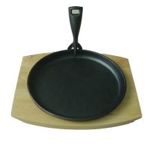 Fajita de ferro fundido frigideira com preço competitivo