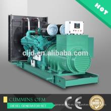 Precio de 1800kva diesel generador con grupos electrógenos de potencia de motor Cummins 1440kw