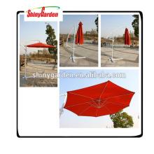 Werbung Strand Garten einziehbaren Regenschirm