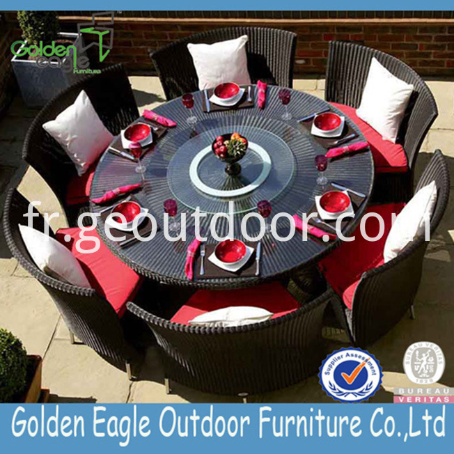 patio aluminium garden dining set