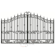 China Customized Factory Wrought Iron Gate