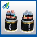 0.6 / 1KV PVC XLPE aisló el cable de transmisión, el cable de alimentación resistente a la combustión acorazado