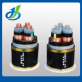 Cabo distribuidor de corrente isolado XLPE do PVC 0.6 / 1KV, cabo distribuidor de corrente resistente à combustão blindado