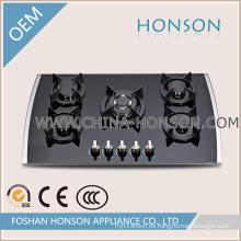 Buena calidad Nuevo diseño de vidrio templado placas de gas