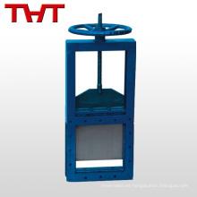 válvula de compuerta eléctrica de compuerta de compuerta de hierro forjado para agua